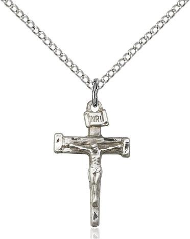 Nail Crucifix Pendant