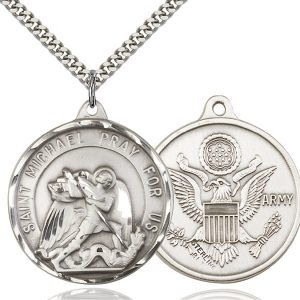St. Michael / Army Pendant
