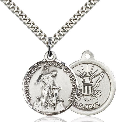 Guardain Angel / Navy Pendant