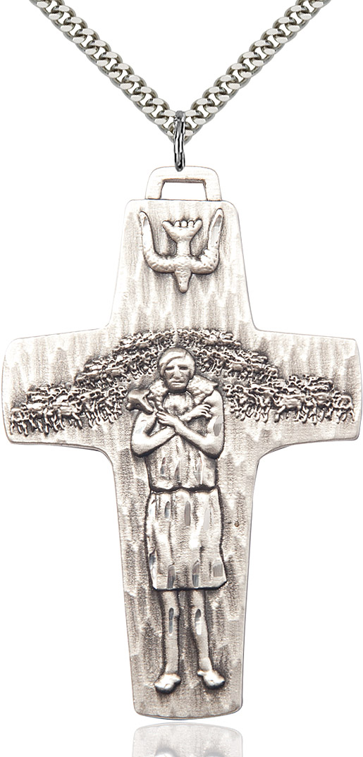 Papal Crucifix Pendant