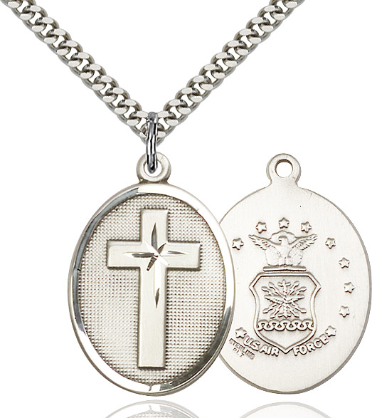 Cross / Air Force Pendant