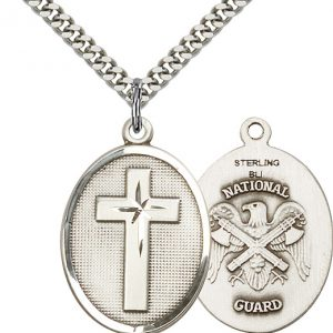 Cross / National Guard Pendant