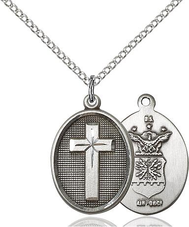 Cross / Air Force Pendant
