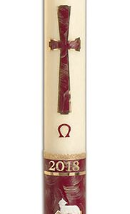 Behold the Lamb Paschal Candle