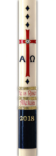 Exalted Paschal Candle