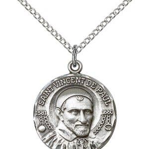 St. Vincent de Paul Pendant
