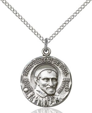 St. Vincent de Paul Pendant