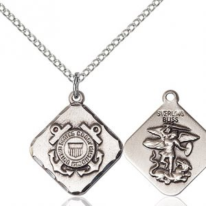 COAST GUARD DIAMOND Pendant