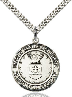 AIR FORCE/ST. CHRISTOPHER Pendant
