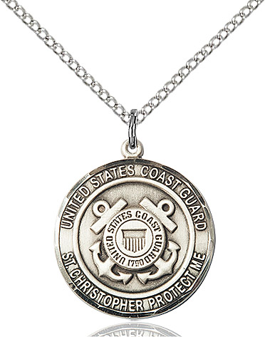 COAST GUARD/ST. CHRISTOPHER Pendant