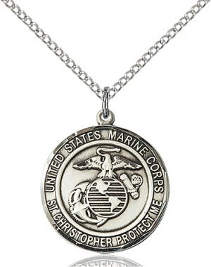 MARINES/ST. CHRISTOPHER Pendant