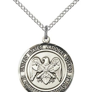 NAT'L GUARD/ST. CHRISTOPHER Pendant
