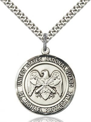 NAT'L GUARD/ST. MICHAEL Pendant