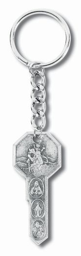 Key shape key chain