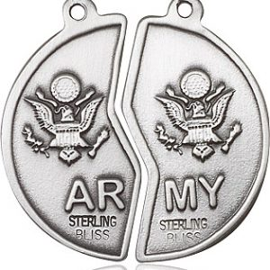Miz Pah Coin Set / Army Pendant