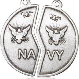 Miz Pah Coin Set / Navy Pendant