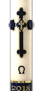 Adoration Paschal Candle