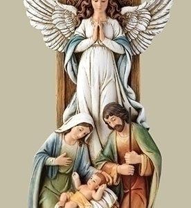 "10.5""ANGEL&HOLY FAM UNDER STAR"