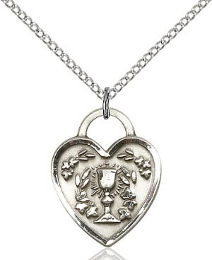 Communion Heart Pendant