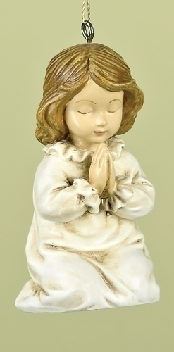 "4"" PRAYING CHILD ORNAMENT"