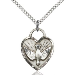 Confirmation Heart Pendant