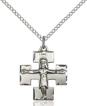 Modern Crucifix Pendant