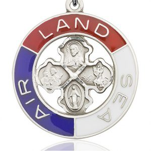 Land, Sea, Air Pendant