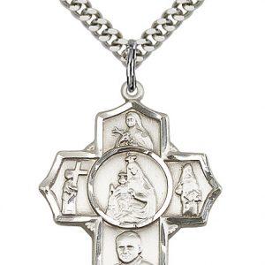 Carmelite 4-Way Pendant