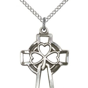 Shamrock Cross Pendant