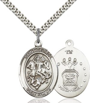 St. George / Air Force Pendant