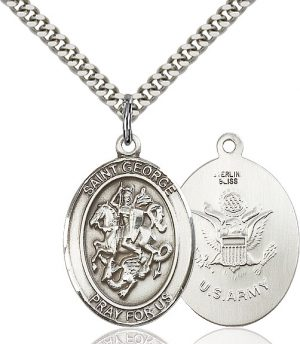 St. George / Army Pendant