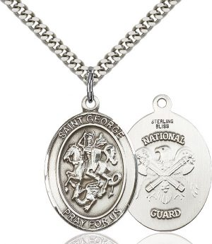 St. George / Nat'L Guard Pendant