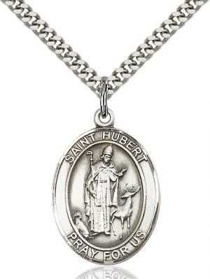 St. Hubert of Liege Pendant