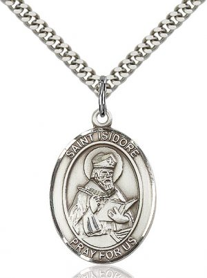 St. Isidore of Seville Pendant