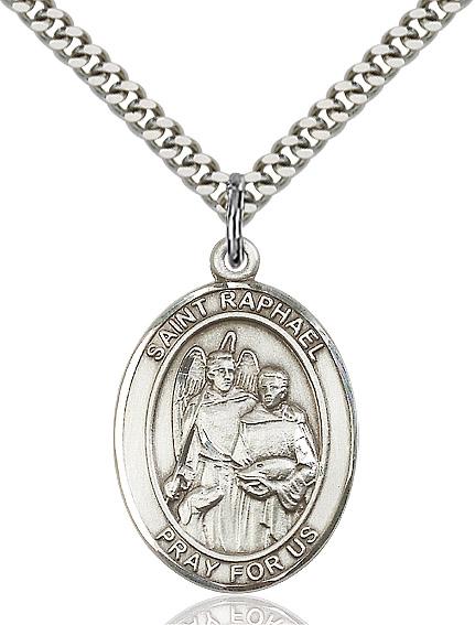 St. Raphael the Archangel Pendant