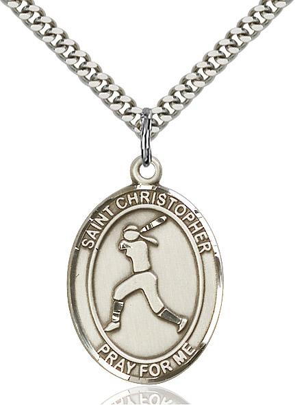 St. Sebastian / Softball Pendant