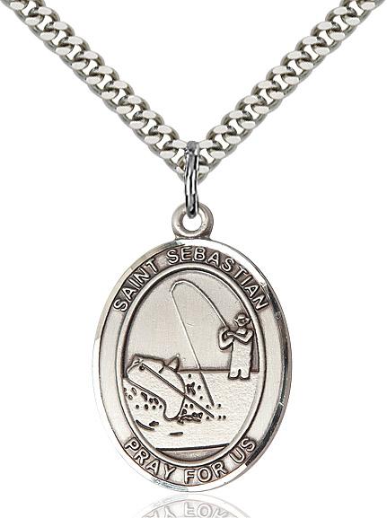 St. Sebastian / Fishing Pendant