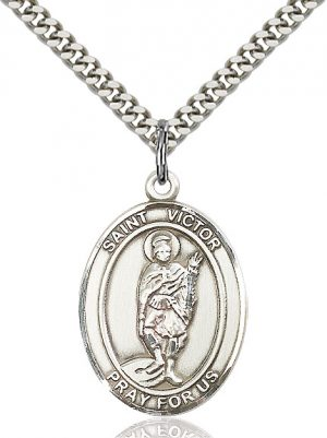 St. Victor of Marseilles Pendant