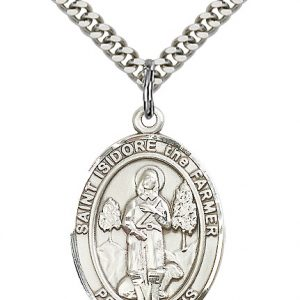 St. Isidore the Farmer Pendant