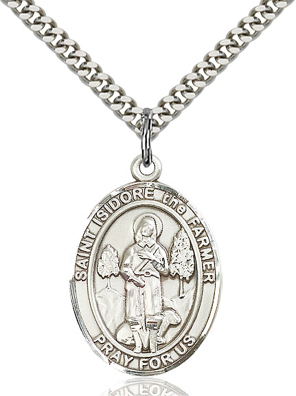 St. Isidore the Farmer Pendant