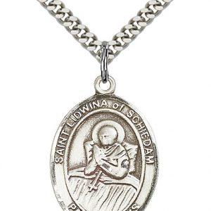 St. Lidwina of Schiedam Pendant