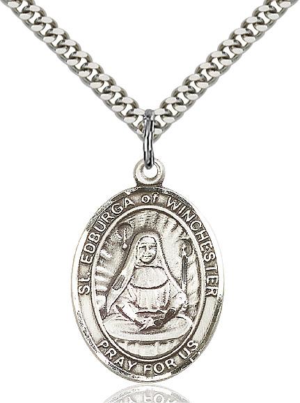 St. Edburga of Winchester Pendant