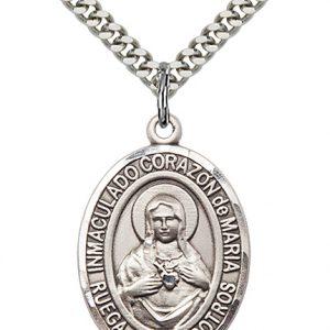 Corazon Inmaculado De Maria Pendant