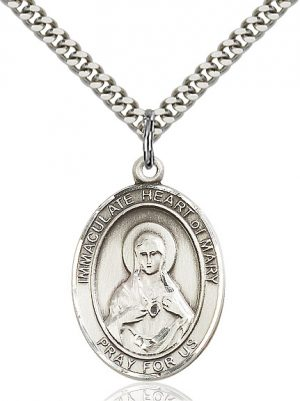 Immaculate Heart of Mary Pendant