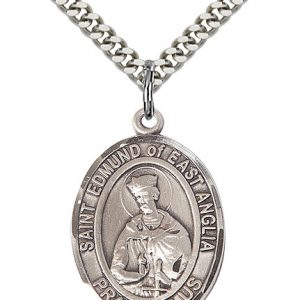 St. Edmund Of East Anglia Pendant