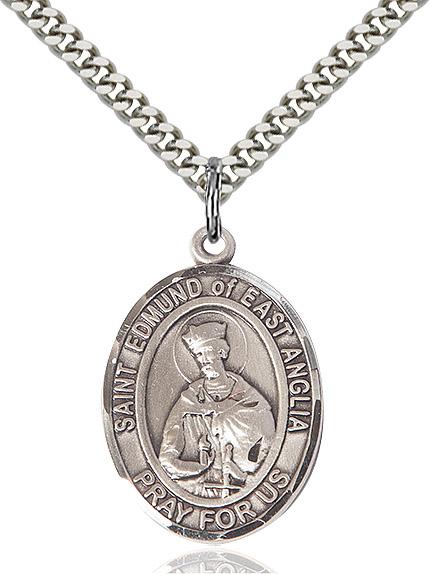 St. Edmund Of East Anglia Pendant