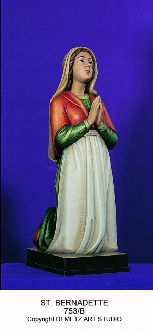St. Bernadette – In Prop.  To Our Lady Of Lourdes