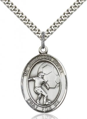 Guardian Angel / Soccer Pendant
