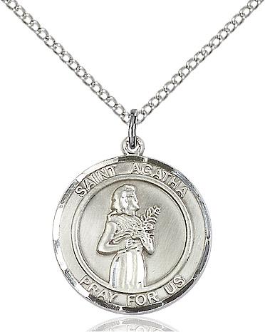 St. Agatha Pendant