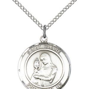 St. Clare of Assisi Pendant